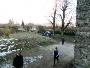 marcheurs de st romain de jalionas 1