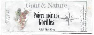 poivre des GORILLE